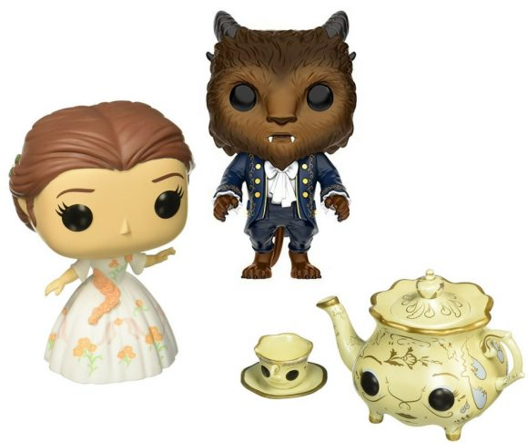 Beauty and the Beast Funko POP Figures