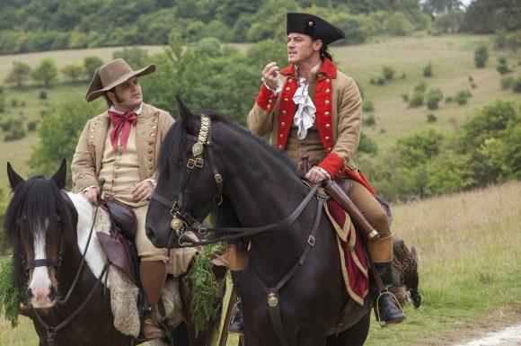 Beauty-and-the-Beast-Gaston-Le-Fou-riding-horses