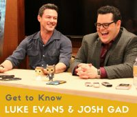 Beauty and the Beast Luke Evans (Gaston) Josh Gad (Le Fou)