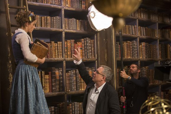 BEAUTY AND THE BEAST Scene with Emma Watson and BIll Condon