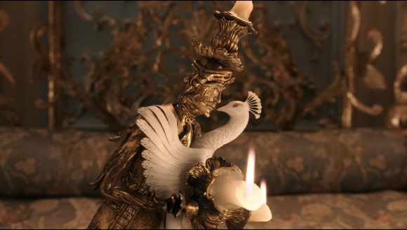 Beauty and the Beast Lumiere and Plumette