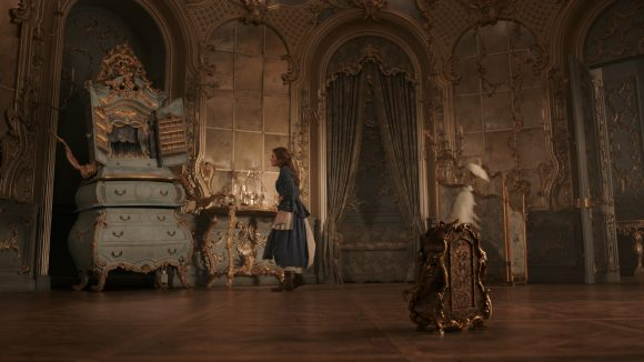 Beauty and the Beast Garderobe and Plumette