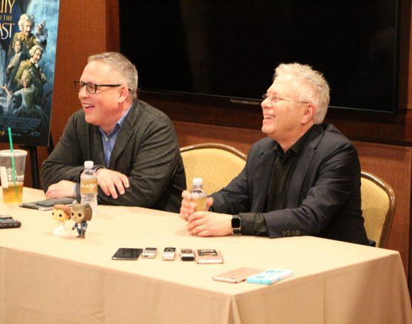 Bill Condon and Alan Menken