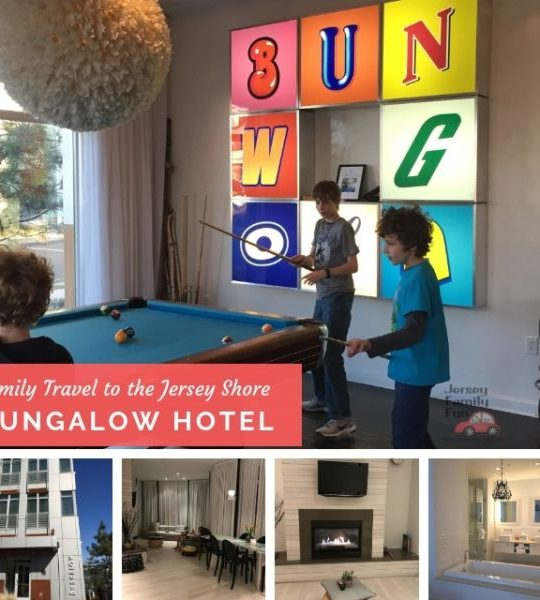 Bungalow Hotel in Long Branch New Jersey offers spacious suites for families