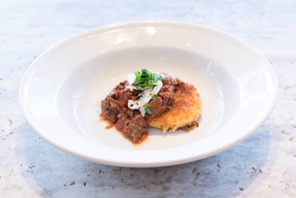Williams Sonoma Beauty and the Beast event Meat Ragu dish