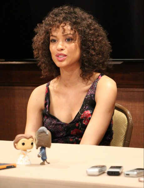 Beauty and the Beast interview with GUGU MBATHA-RAW at the Montage Hotel in Beverly Hills, CA.