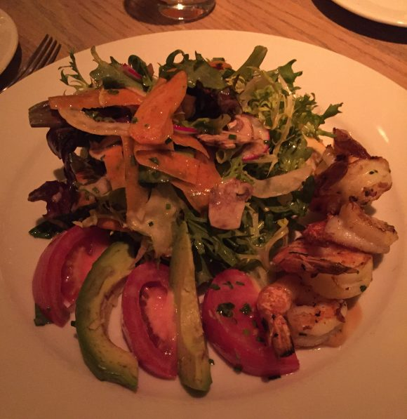 The Avenue Salad at Le Club Avenue restaurant in Long Branch, NJ