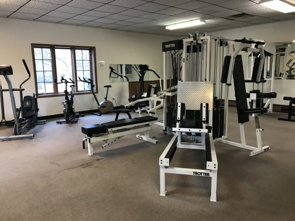 Fitness Center at Windwood Inn and Condos at Windham Mountain