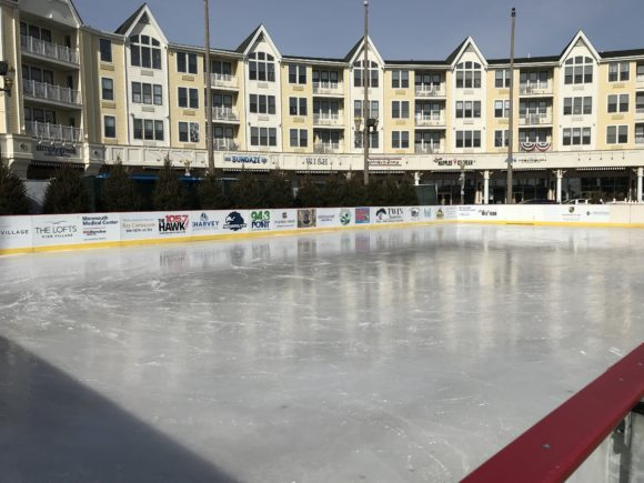 Ice Skate at Ice at the Pier in Long Branch NJ