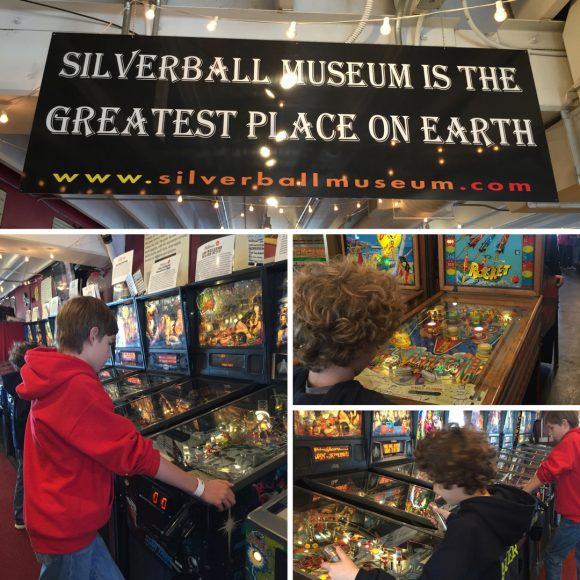 Silverball Museum Pinball Arcade in Asbury Park, New Jersey