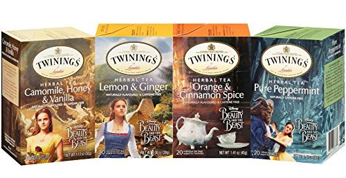 Twinings Tea Beauty and the Beast-themed collection of teas