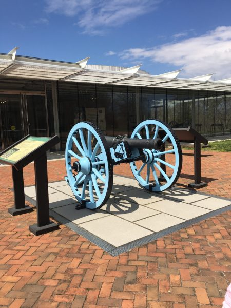 cannon at monmouth battlefield 2