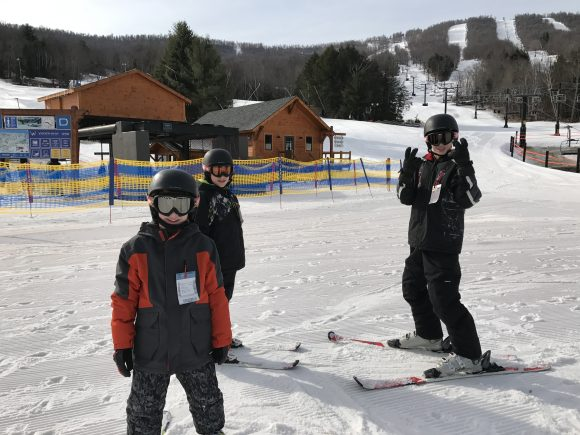 Learning to ski at Windham Mountain ski school