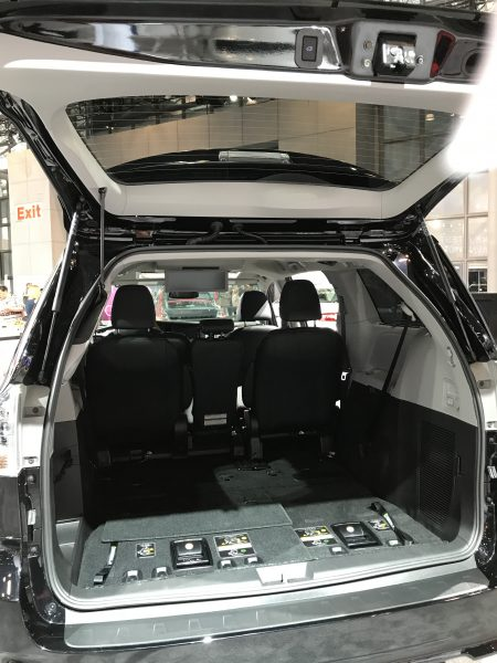 2018 Toyota Sienna at the New York International Auto Show