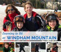 Learning to Ski At Windham Mountain in Windham NY