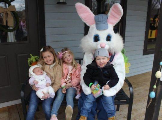 DiDonato's Eggpress at the DiDonato's Family Fun Center in Hammonton, an Atlantic County Easter event in Hammonton, New Jersey.