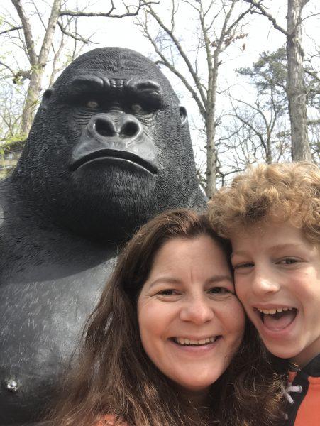 Cohanzick Zoo Selfie