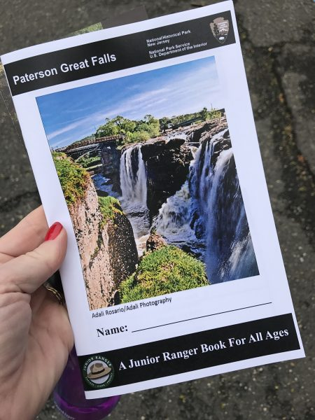 National Historical Park Paterson Great Falls Junior Ranger Badges workbook