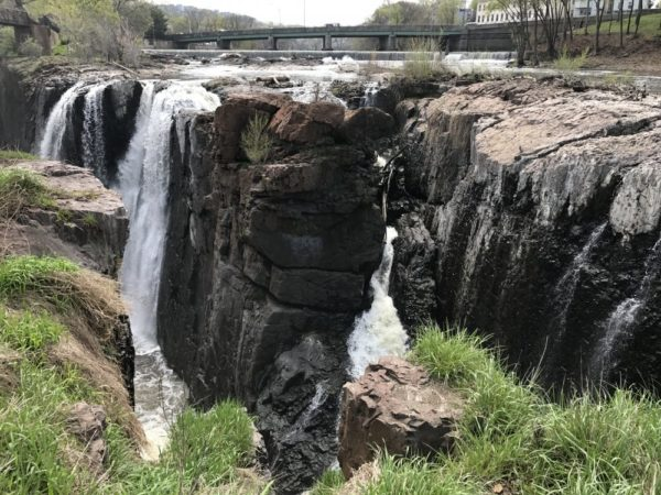 National Historical Park Paterson Great Falls in Paterson New Jersey