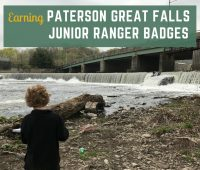 Paterson Great Falls Junior Ranger badges