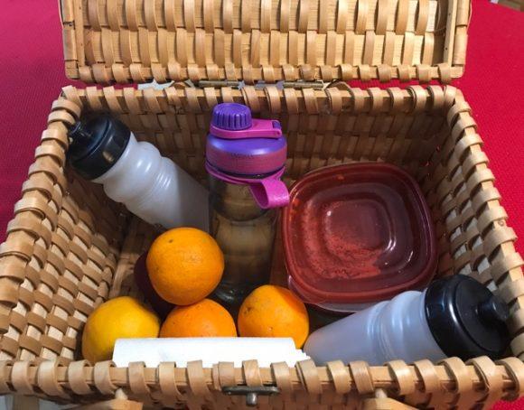 Colgate Total® Advanced Health Mouthwash picnic basket