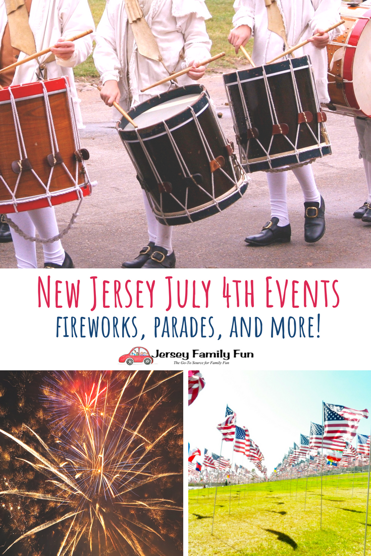 NJ July 4th Events, Fireworks, Parades, and More (PIN)