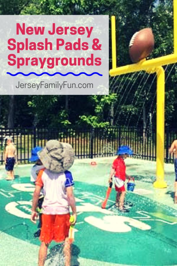 New Jersey Splash Pads and Spraygrounds (PIN)