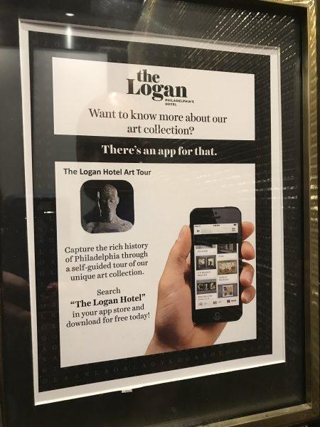 the Logan Hotel app