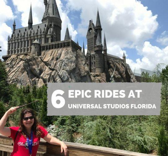 6 Epic Rides at Universal Studios Florida