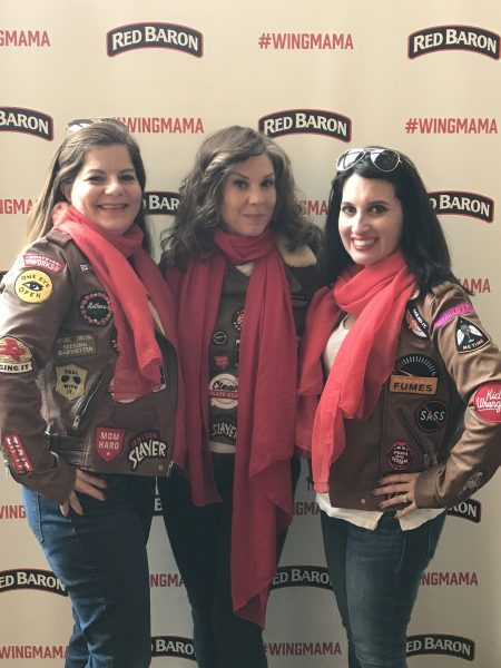 wingmamas at Red Baron Pizza Wingmama event in NYC