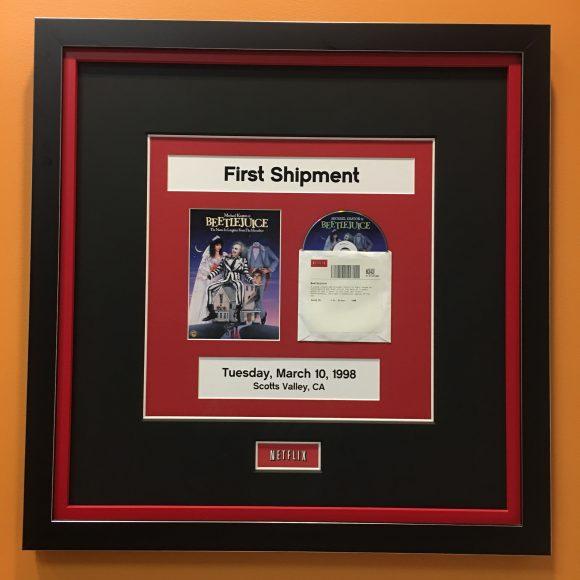 Netflix DVD.com first shipment