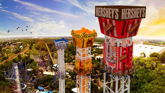 Reasons to visit Hersheypark triple tower