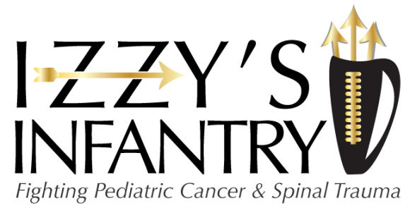 Izzy's Infantry Fighting Pediatric Cancer and Spinal Trauma logo