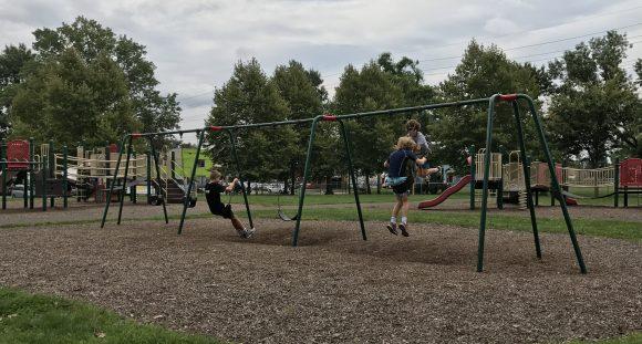 Von Nieda Park in Camden New Jersey - Camden County Parks Playgrounds