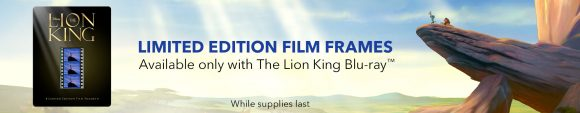 The Lion King Blu-Ray DVD