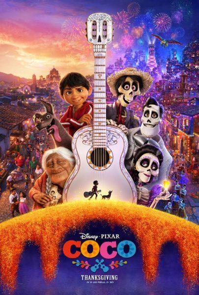 Disney Pixar Coco movie poster