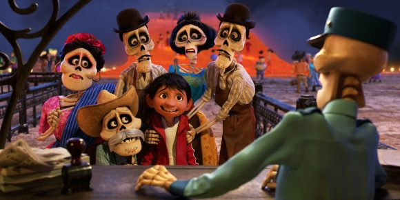 Disney Pixar Coco movie scene