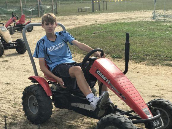 Pedal Carts at Sahls Father Son Farm