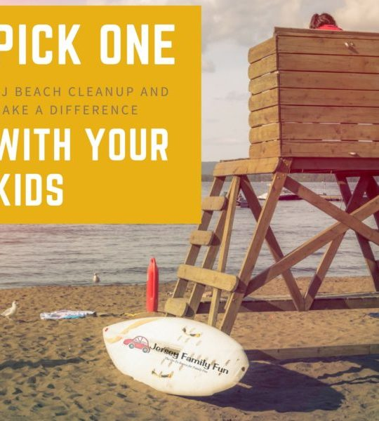 Pick One of these New Jersey Beach Cleanups AND Make a Difference