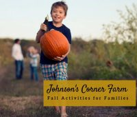 Top 5 Johnson's Corner Farm Fall Activities for Families