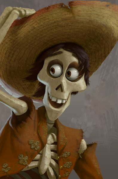 Disney Pixar Coco Skeletons