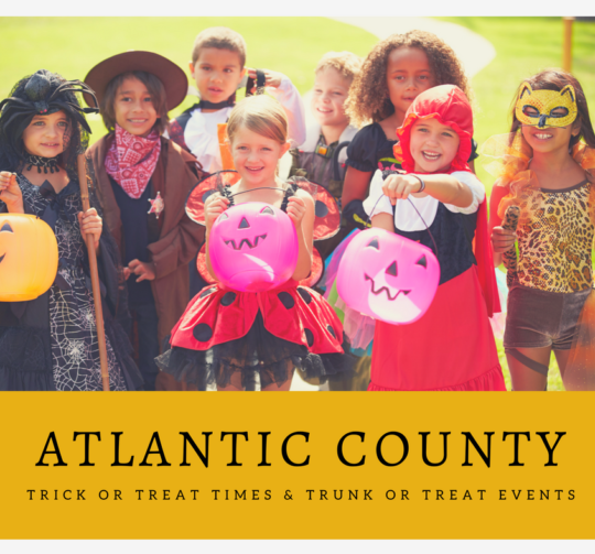 Atlantic County Trick or Trick or Treat Times