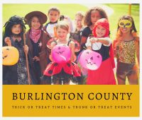 Burlington County Trick or Treat Times