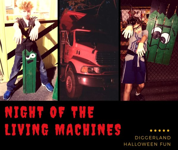 Diggerland Night of the Living Machines