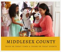 Middlesex County Trick or Trick or Treat Times