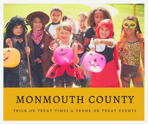 Monmouth County Trick or Treat Times