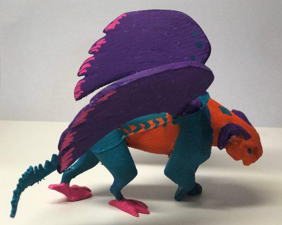 My Pepita alebrijes for DIsney Pixar Coco