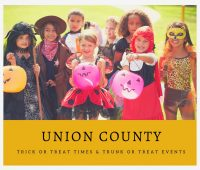 Union County Trick or Treat Times