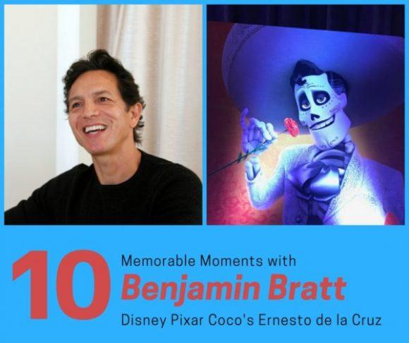 10 Memorable Moments with Benjamin Bratt, Disney Pixar Coco's Ernesto de la Cruz #PixarCocoEvent
