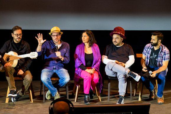 Michael Giacchino (Composer), Germaine Franco (Songwriter/Arranger), Camilo Lara (Consultant), Adrian Molina (Writer and Co-Director) & Federico Ramos (Guitarist)